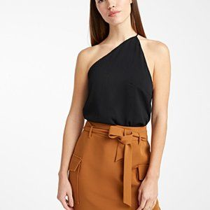 NWT Icone Offset  recycled crepe halter